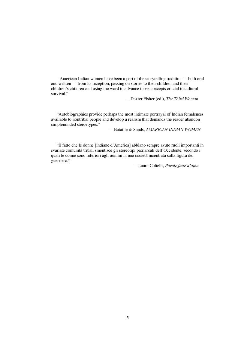 Anteprima della tesi: Indian Women's Autobiographies, Pagina 5