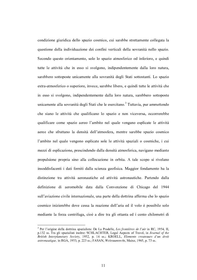 Anteprima della tesi: Lo spazio cosmico, Pagina 3