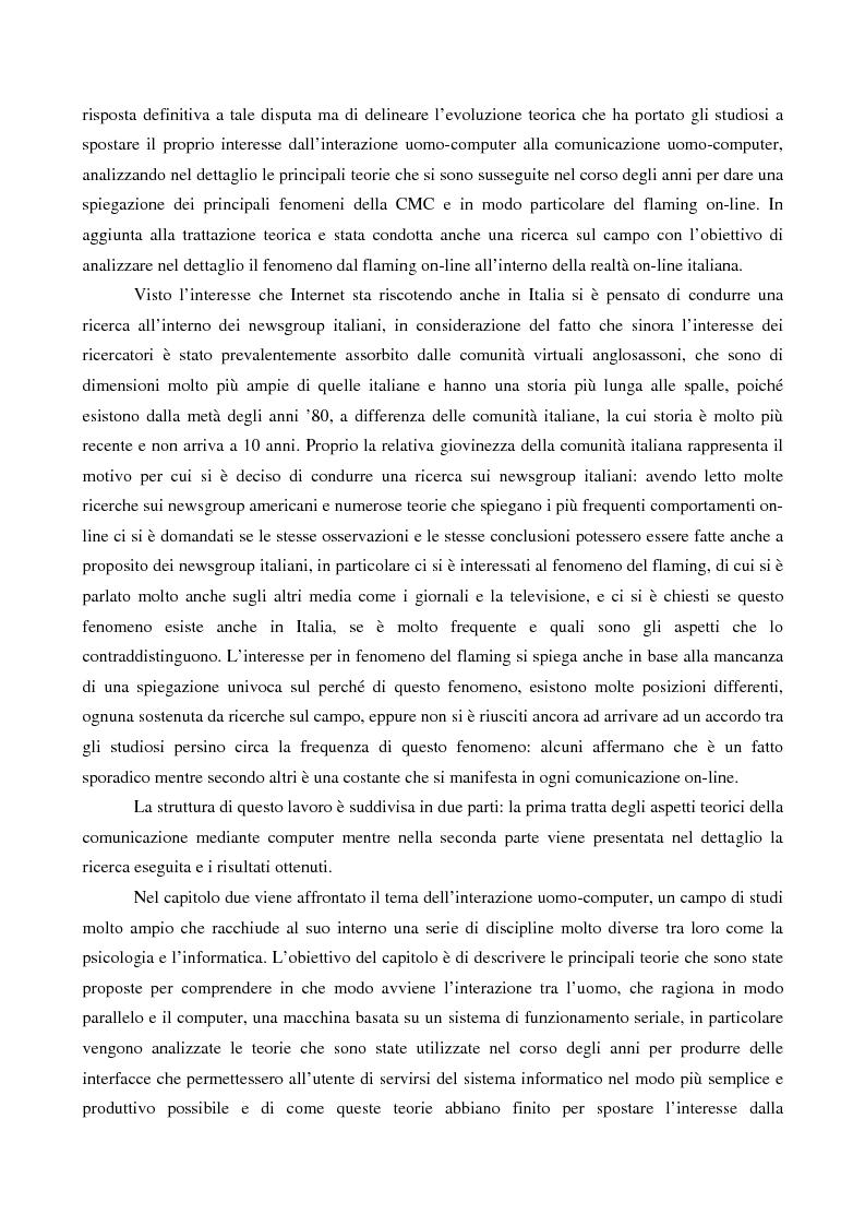 Anteprima della tesi: Aspetti iconici della comunicazione virtuale nei newsgroup, Pagina 3