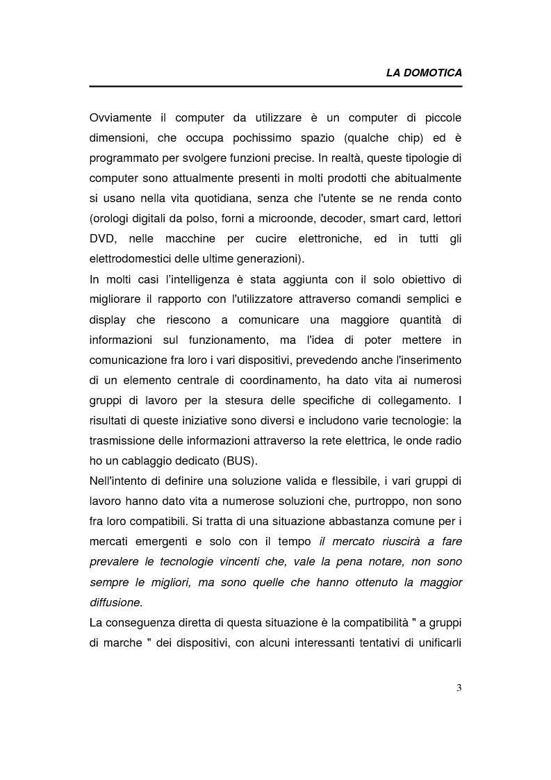 Anteprima della tesi: Relazioni interorganizzative e problematiche connesse allo sviluppo di uno standard tecnologico nel business della domotica: caso Bticino, Pagina 3