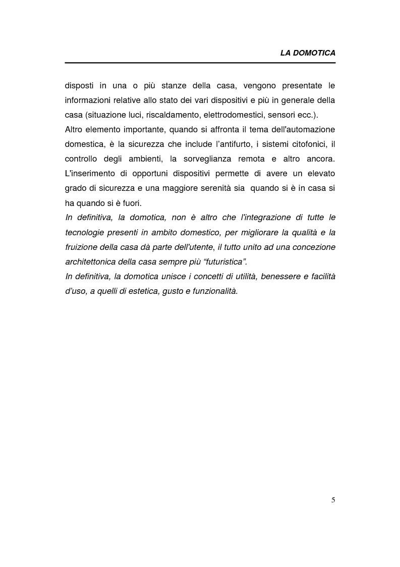 Anteprima della tesi: Relazioni interorganizzative e problematiche connesse allo sviluppo di uno standard tecnologico nel business della domotica: caso Bticino, Pagina 5
