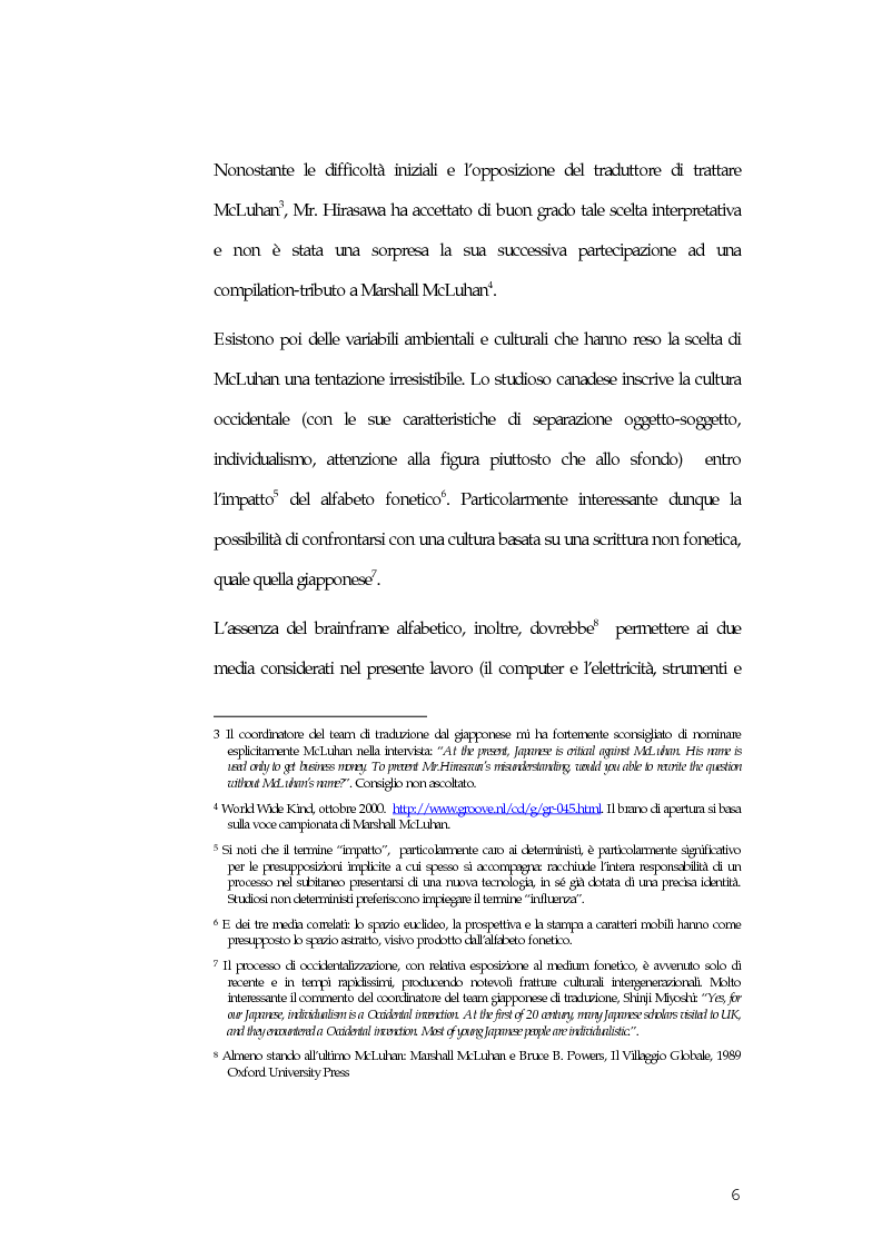 Anteprima della tesi: McLuhan e McLuhanismi nella produzione artistica di Susumu Hirasawa, Pagina 2