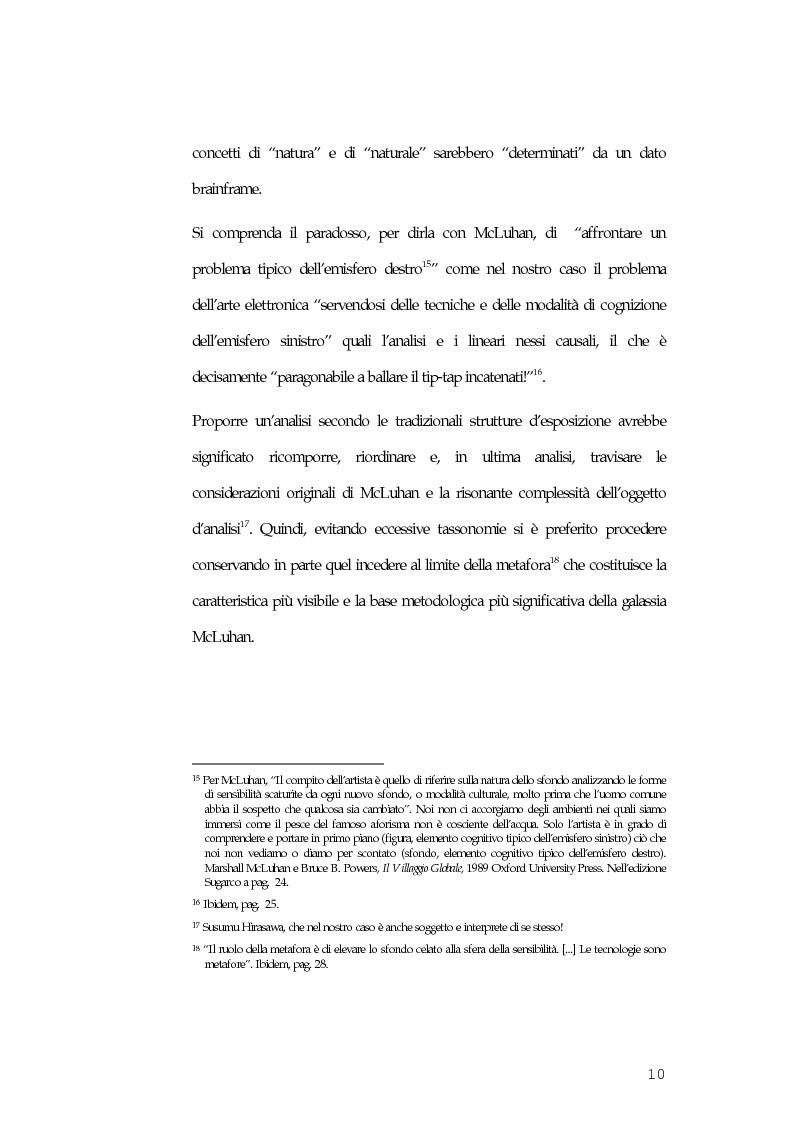 Anteprima della tesi: McLuhan e McLuhanismi nella produzione artistica di Susumu Hirasawa, Pagina 6