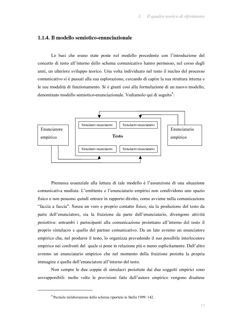 Anteprima della tesi: I fatti e la loro messa in scena: due casi di informazione televisiva a confronto, Pagina 13
