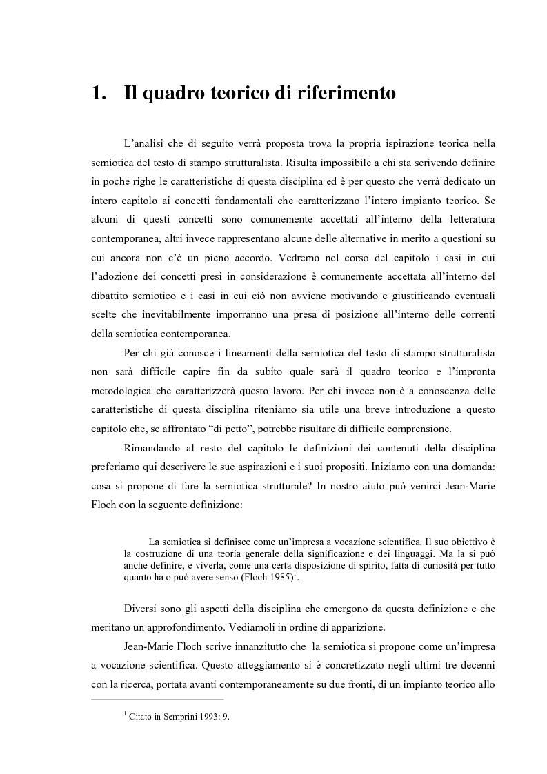 Anteprima della tesi: I fatti e la loro messa in scena: due casi di informazione televisiva a confronto, Pagina 3
