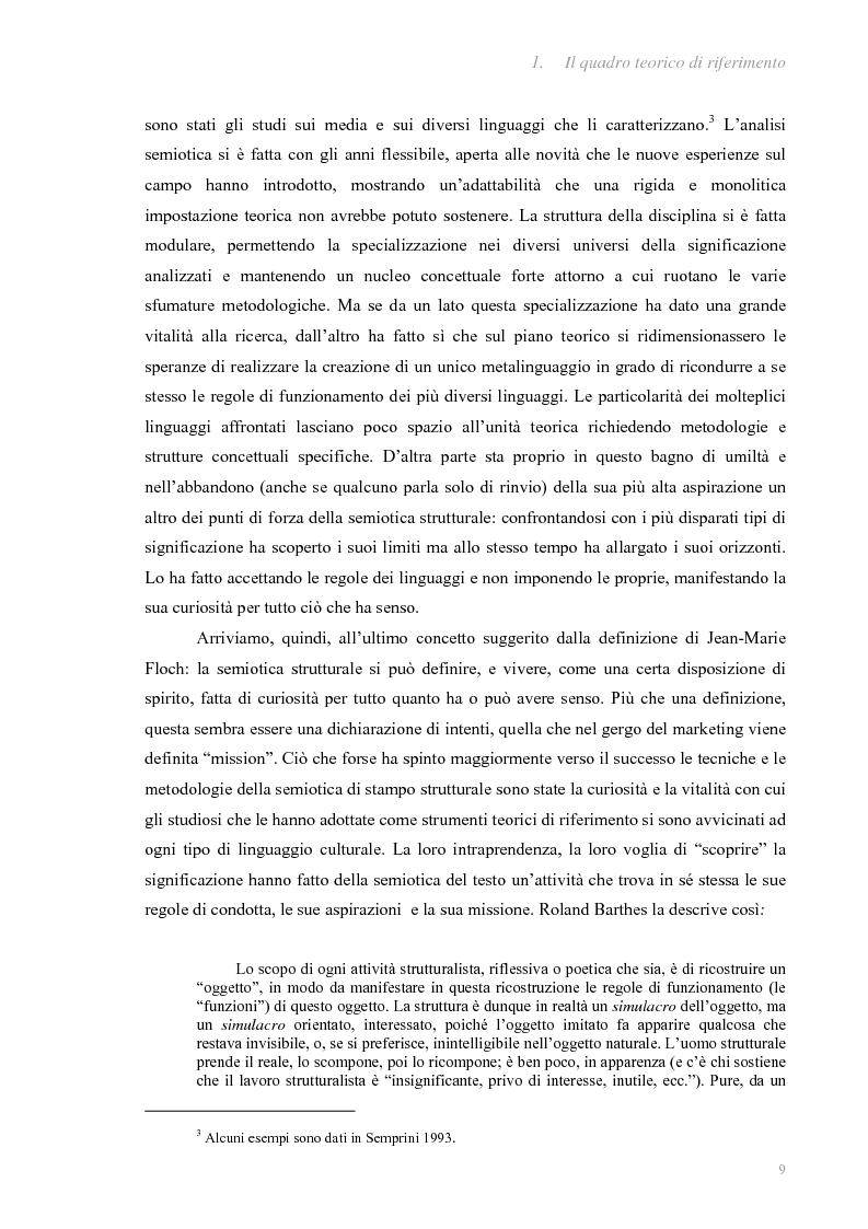 Anteprima della tesi: I fatti e la loro messa in scena: due casi di informazione televisiva a confronto, Pagina 5