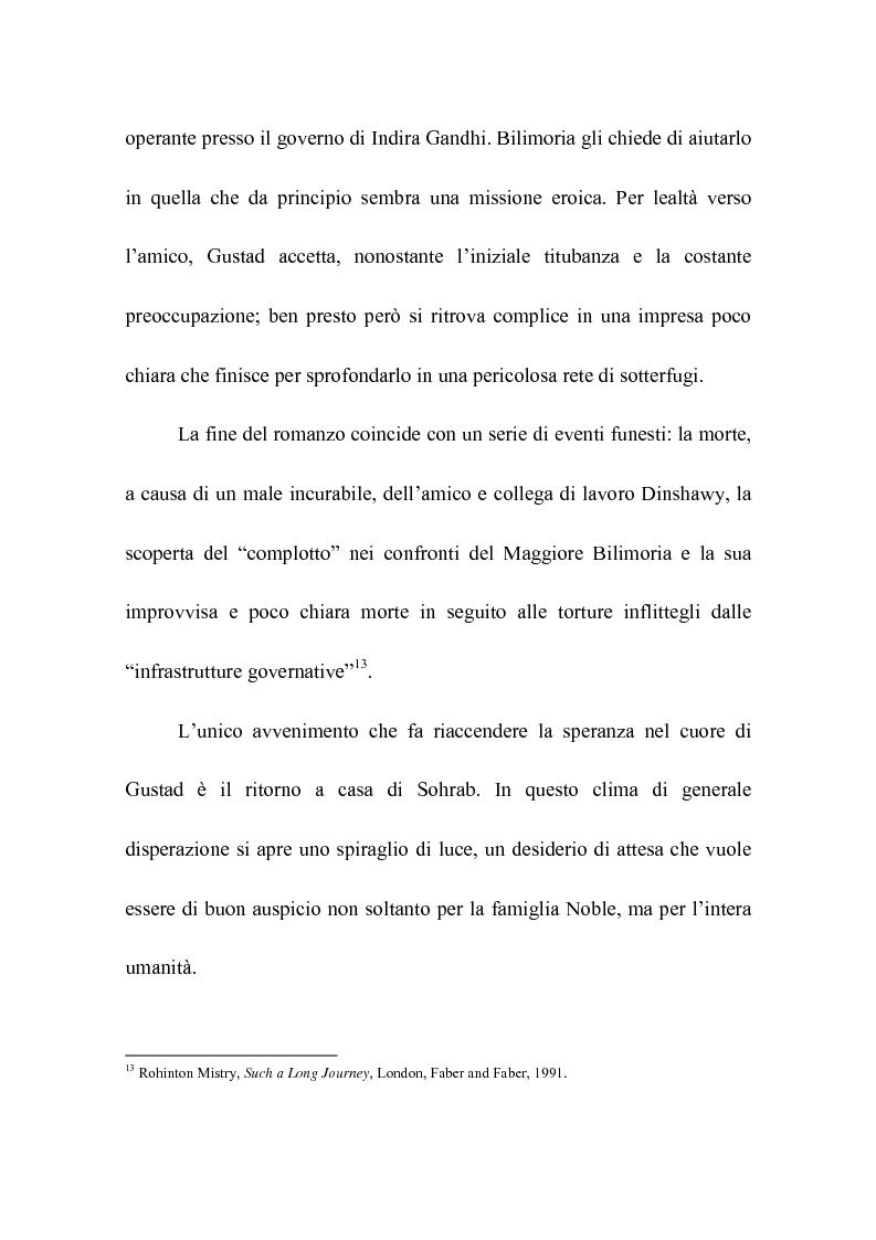 Anteprima della tesi: Rohinton Mistry: un'analisi di Such a Long Journey, Pagina 12