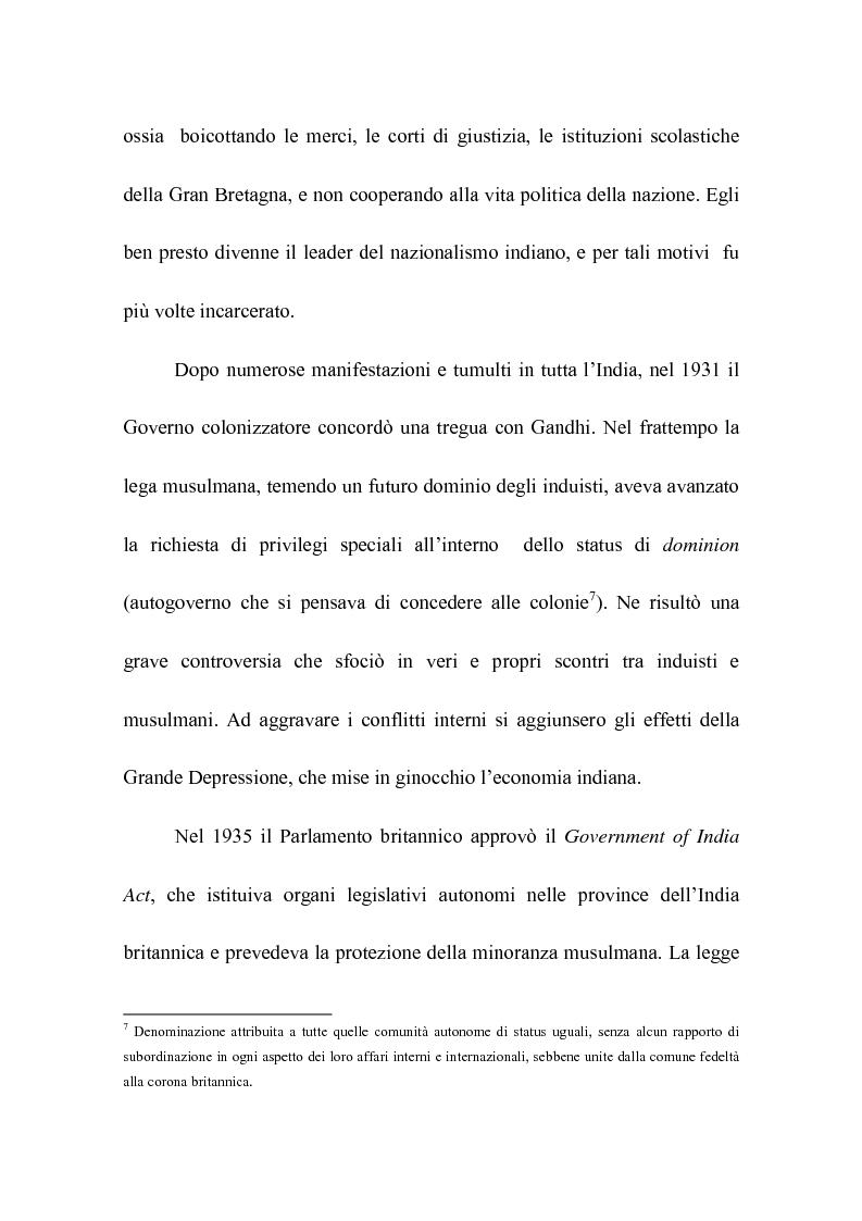 Anteprima della tesi: Rohinton Mistry: un'analisi di Such a Long Journey, Pagina 6