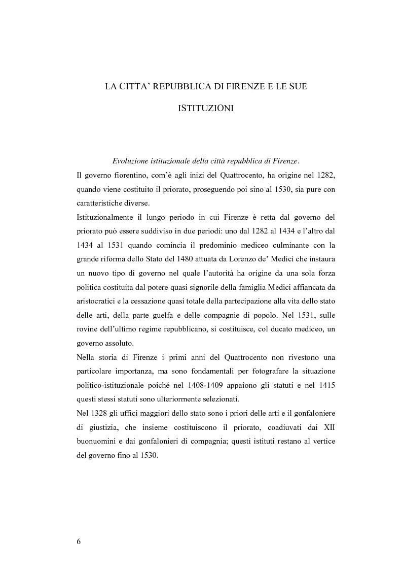 Anteprima della tesi: Gli statuti del vicariato del Podere Fiorentino: Palazzuolo (1406) e Firenzuola (1418), Pagina 3