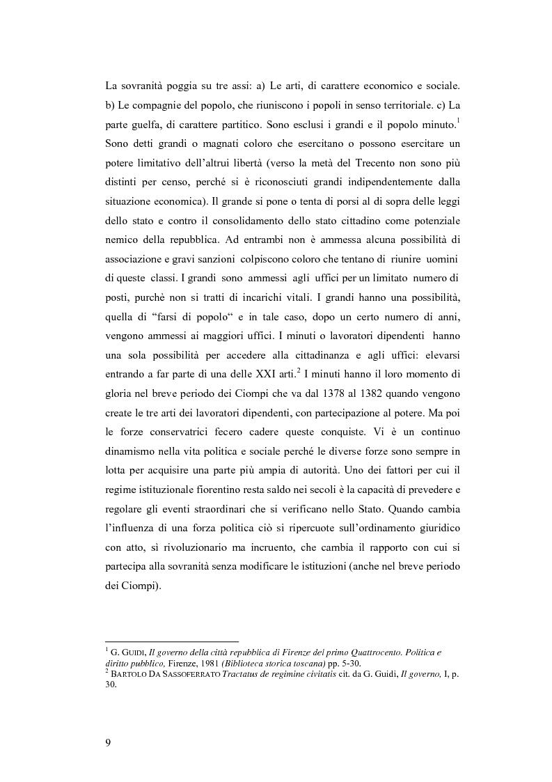 Anteprima della tesi: Gli statuti del vicariato del Podere Fiorentino: Palazzuolo (1406) e Firenzuola (1418), Pagina 6