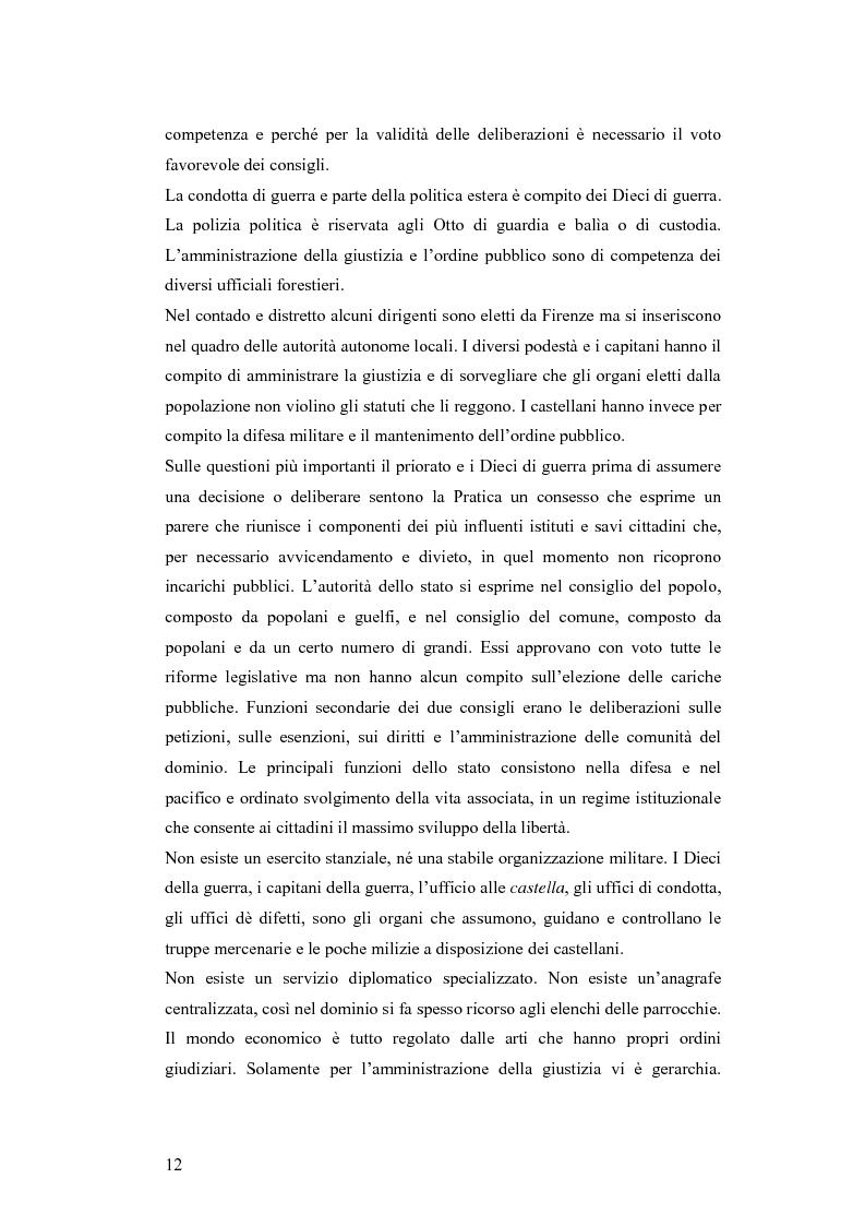 Anteprima della tesi: Gli statuti del vicariato del Podere Fiorentino: Palazzuolo (1406) e Firenzuola (1418), Pagina 9