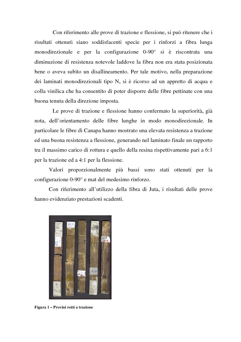 Anteprima della tesi: Valutazione del comportamento meccanico di laminati compositi rinforzati con fibre naturali, Pagina 3