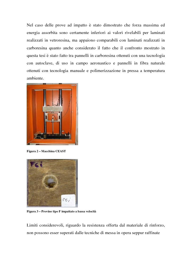 Anteprima della tesi: Valutazione del comportamento meccanico di laminati compositi rinforzati con fibre naturali, Pagina 4