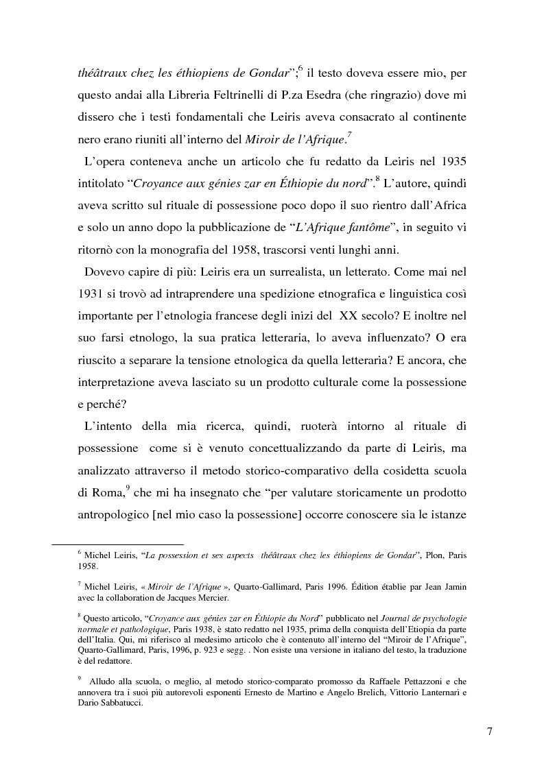 Anteprima della tesi: Rivisitando Michel Leiris: analisi storico-culturale di un autore tra le due guerre, Pagina 3