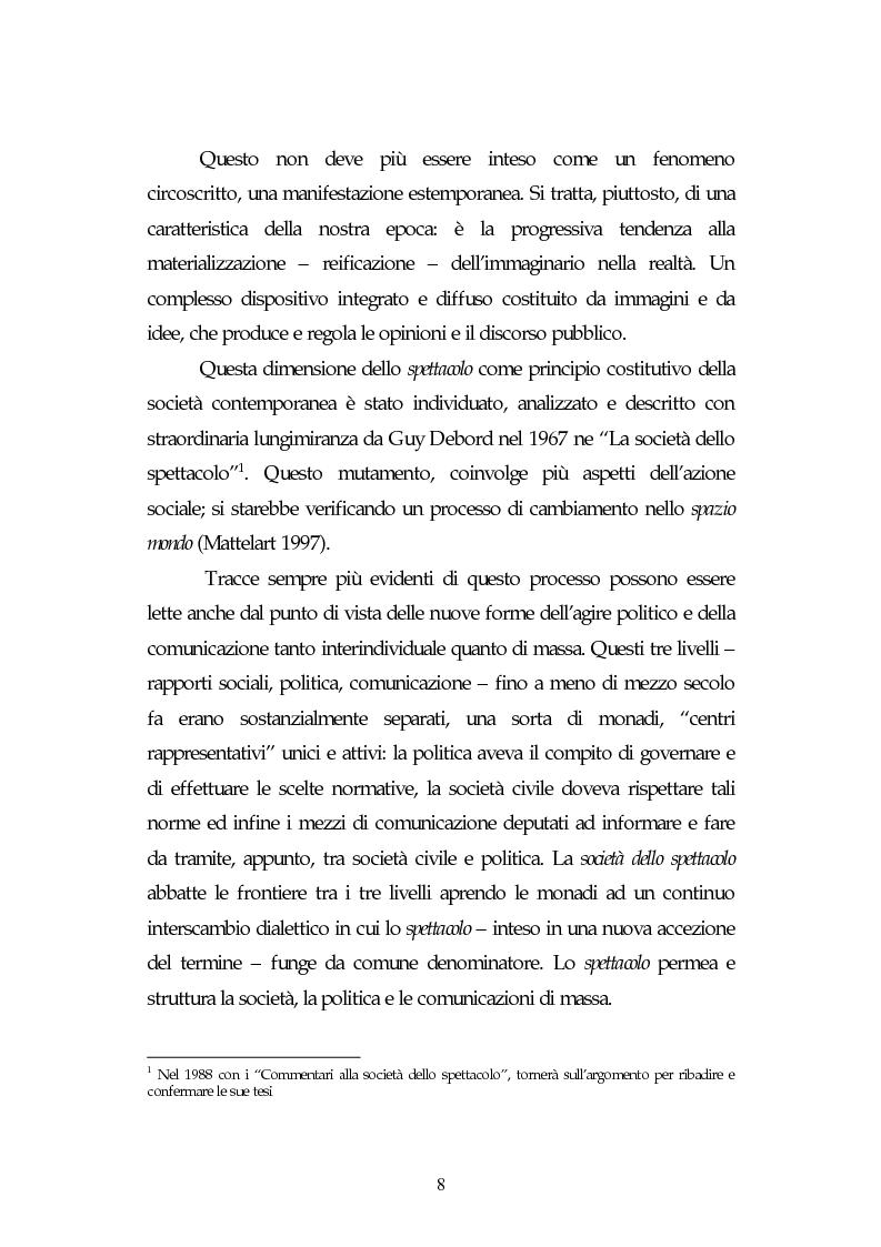 Anteprima della tesi: Metamorfosi della politica e la categoria dello spettacolo in Debord, Pagina 4