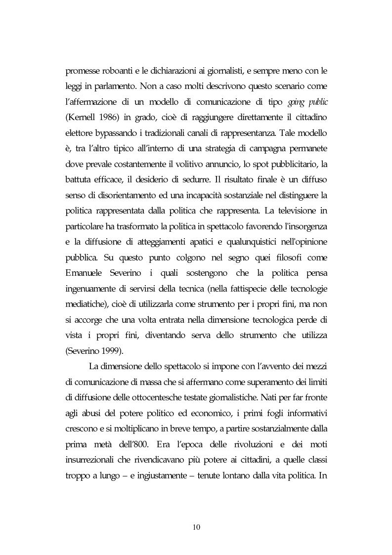 Anteprima della tesi: Metamorfosi della politica e la categoria dello spettacolo in Debord, Pagina 6