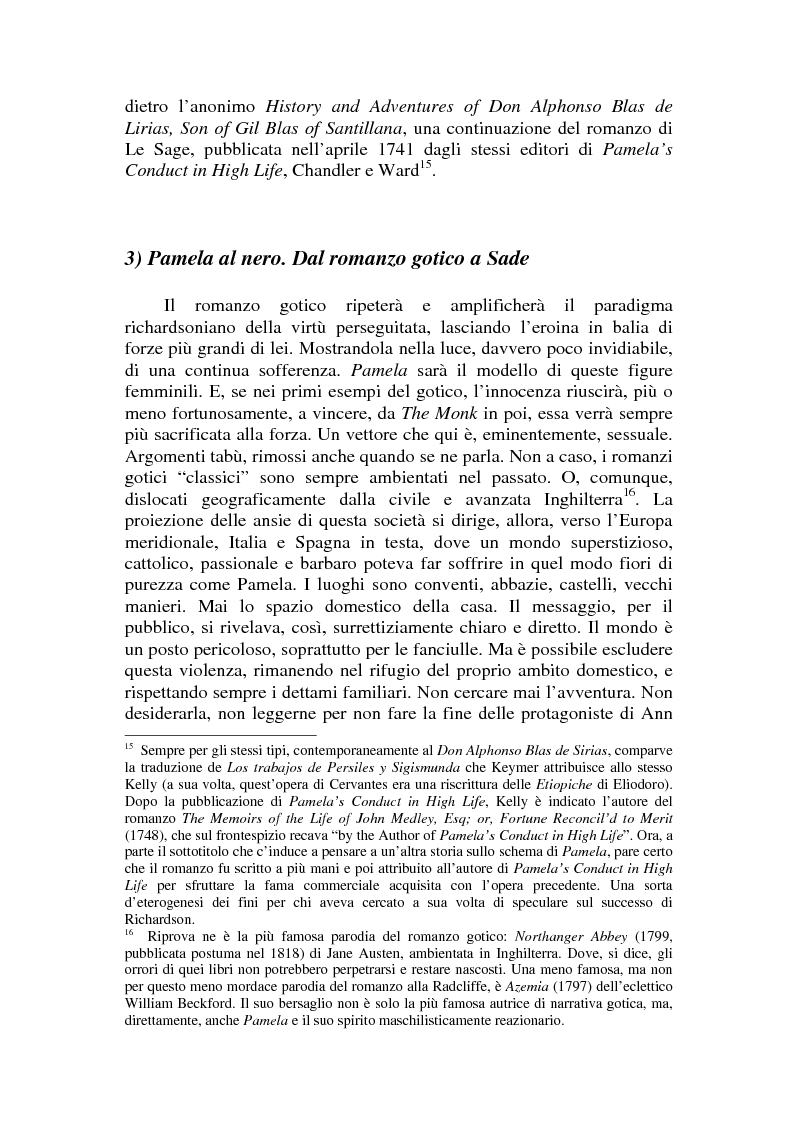 Anteprima della tesi: Romanzo e parodia nel Settecento. Tra Don Chisciotte e la Pamela Vogue, Pagina 12