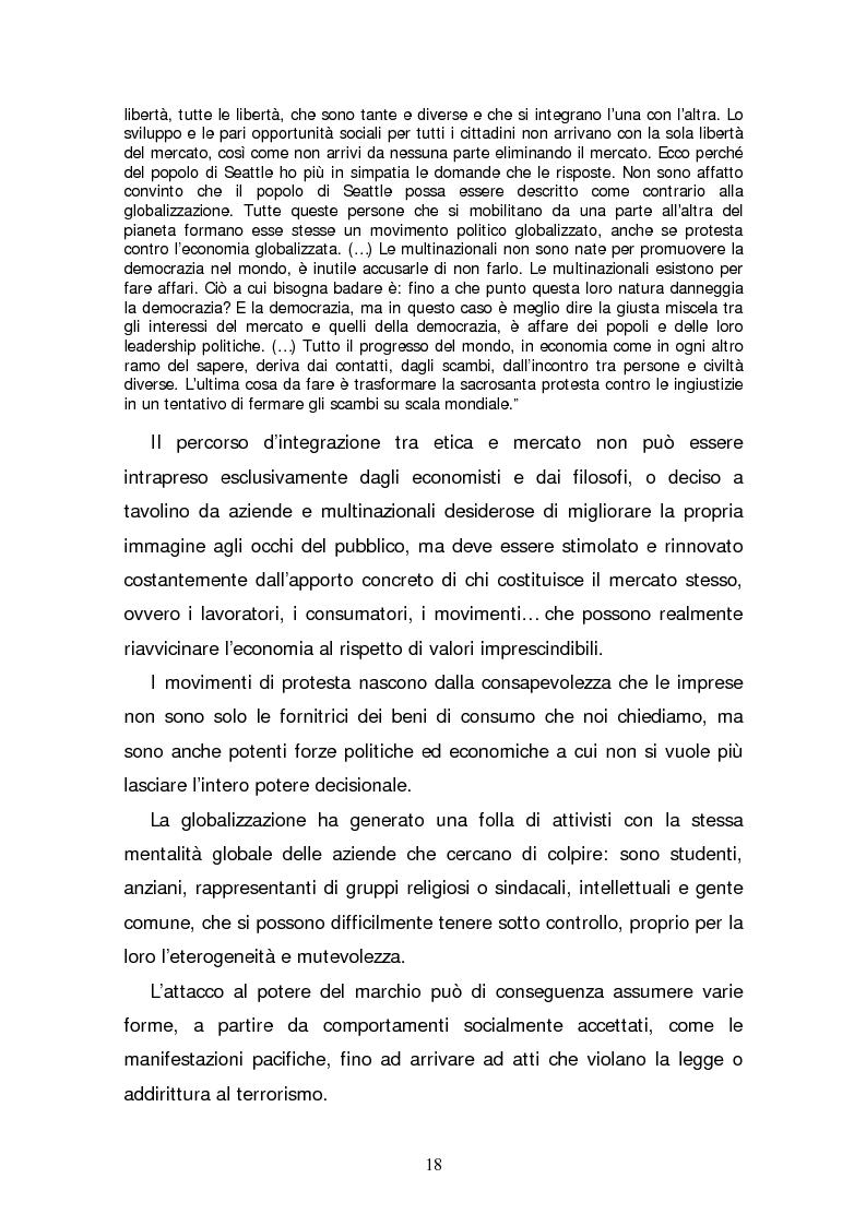 Anteprima della tesi: Il consumatore etico e solidale: prospettive e sviluppo di un nuovo stile di vita tra realtà e utopia, Pagina 13