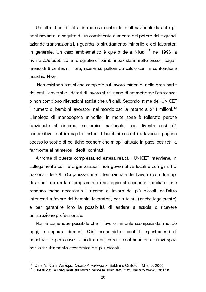 Anteprima della tesi: Il consumatore etico e solidale: prospettive e sviluppo di un nuovo stile di vita tra realtà e utopia, Pagina 15