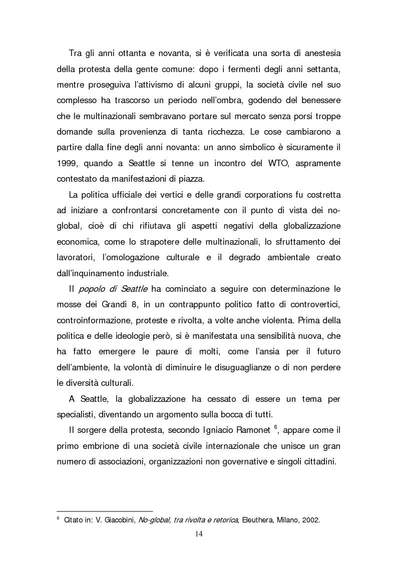 Anteprima della tesi: Il consumatore etico e solidale: prospettive e sviluppo di un nuovo stile di vita tra realtà e utopia, Pagina 9