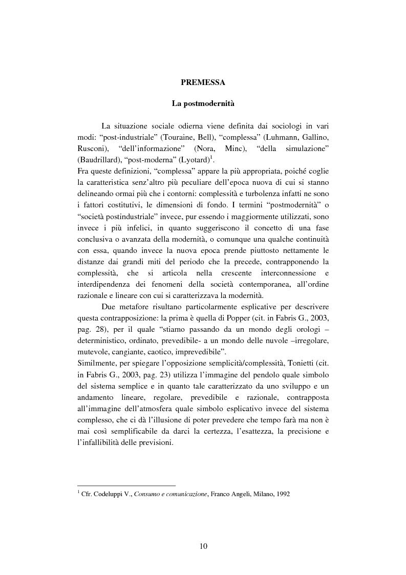 Anteprima della tesi: Il ruolo dell'evento nella comunicazione d'impresa - Il caso MochiCraft di Ferrettigroup, Pagina 5