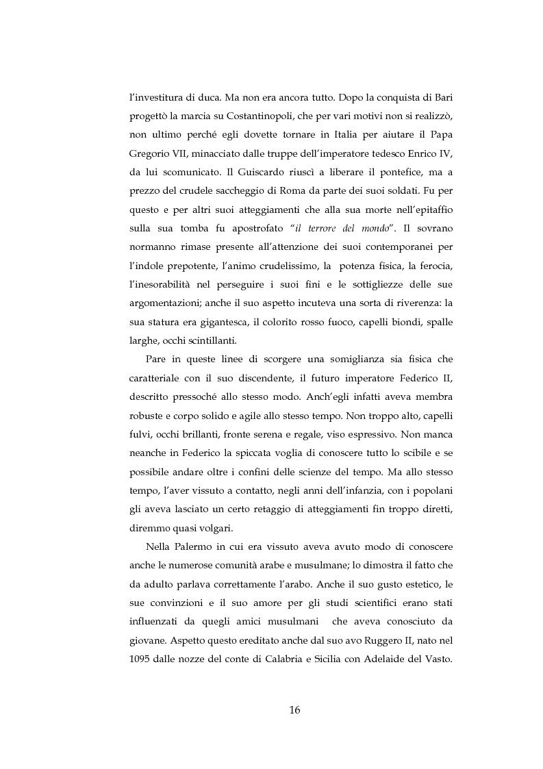 Anteprima della tesi: ''Cavalieri dell'intelletto'' tra potere e cultura: Federico II e Franco Battiato, Pagina 11