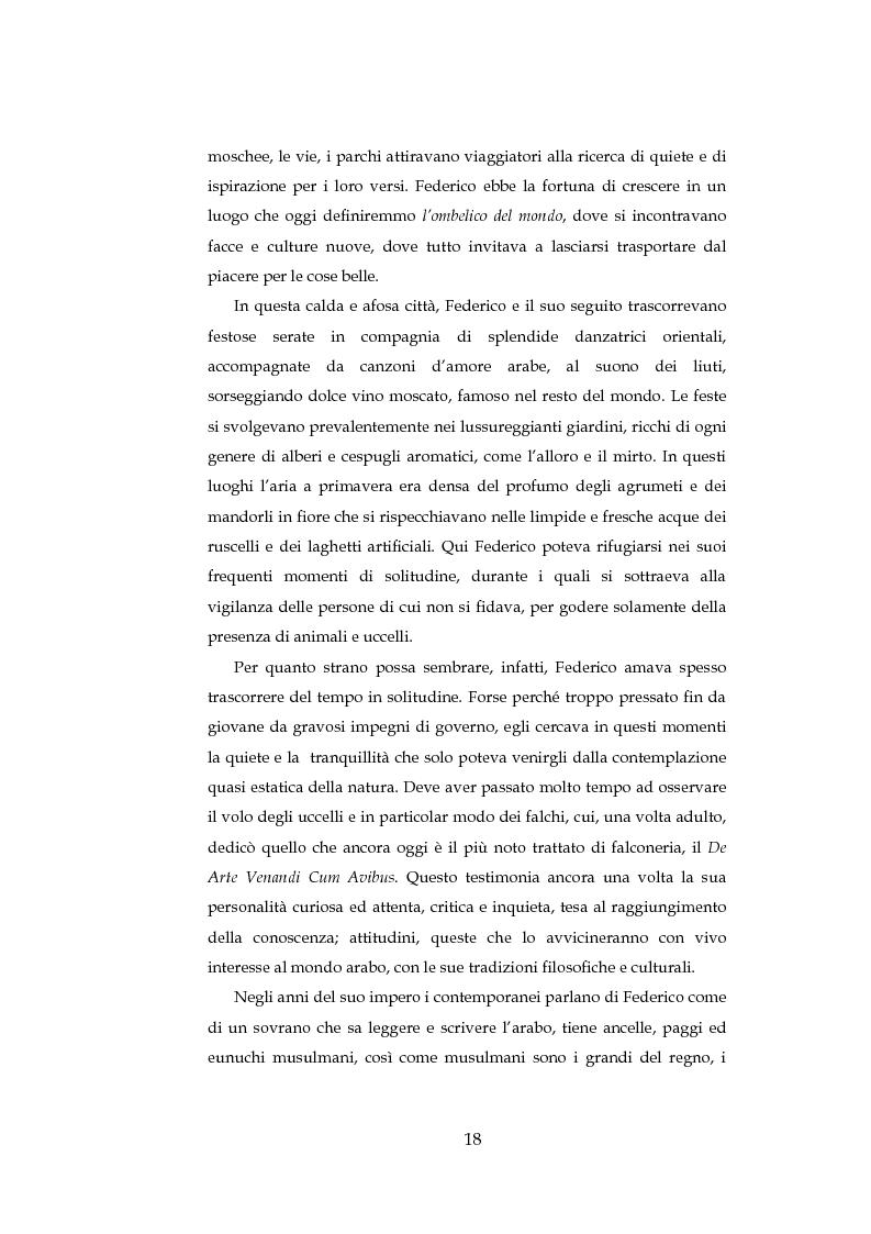 Anteprima della tesi: ''Cavalieri dell'intelletto'' tra potere e cultura: Federico II e Franco Battiato, Pagina 13