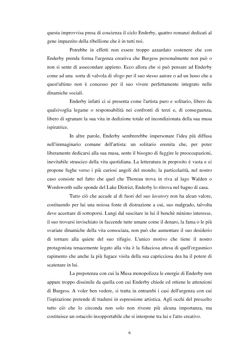 Anteprima della tesi: Anthony Burgess e F. X. Enderby a confronto, Pagina 5