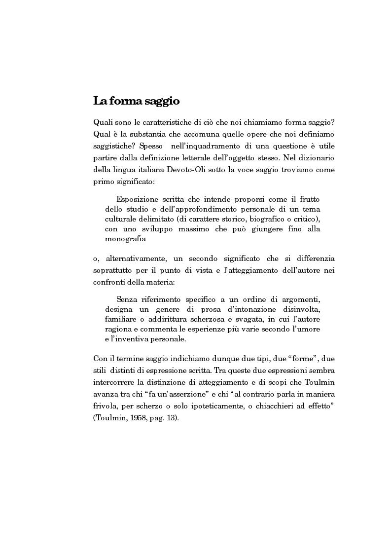 Anteprima della tesi: La forma-saggio nei sistemi ipertestuali informatici, Pagina 4