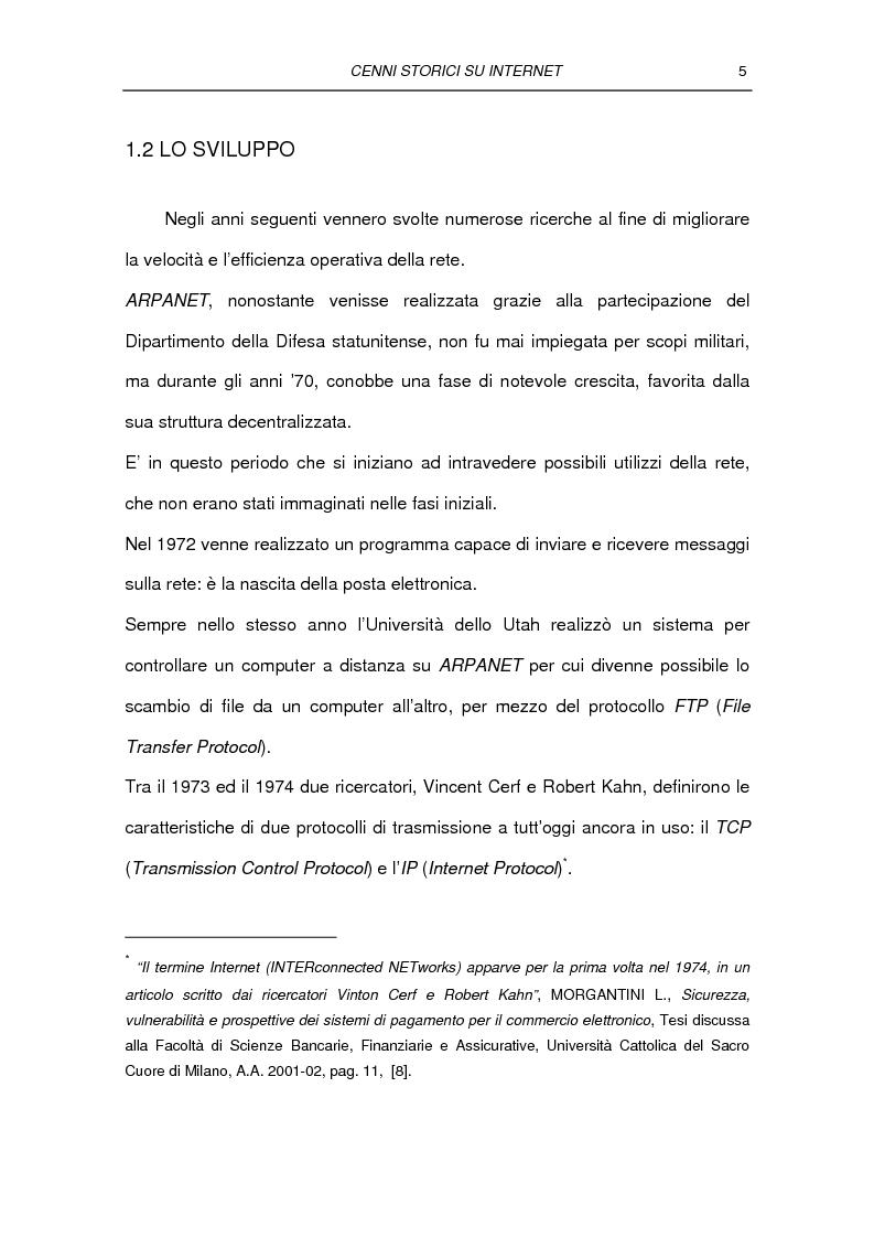 Anteprima della tesi: Il commercio elettronico Business to Consumer: i sistemi di pagamento, Pagina 11