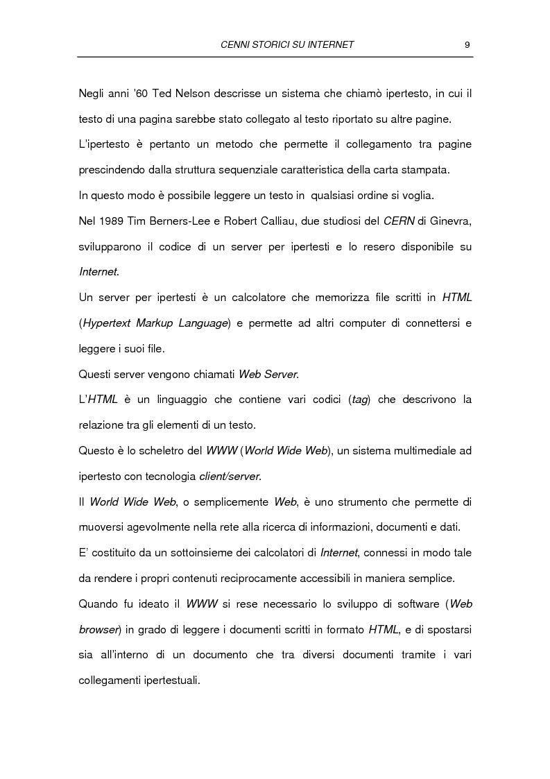 Anteprima della tesi: Il commercio elettronico Business to Consumer: i sistemi di pagamento, Pagina 15