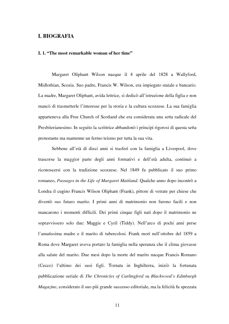 Anteprima della tesi: Margaret Oliphant fra Autobiografia e Romanzo. L'impossibilità di raccontarsi., Pagina 7