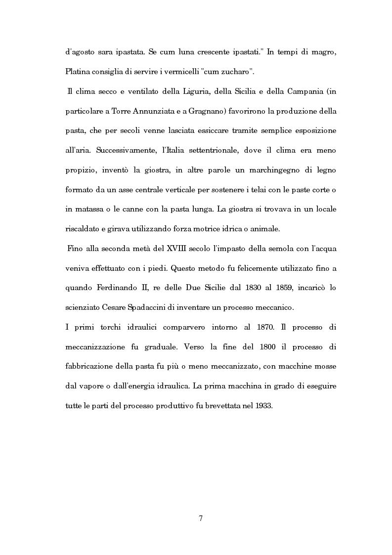 Anteprima della tesi: Caratterizzazione chimica e analisi sensoriale della pasta ottenuta dal farro, Pagina 3