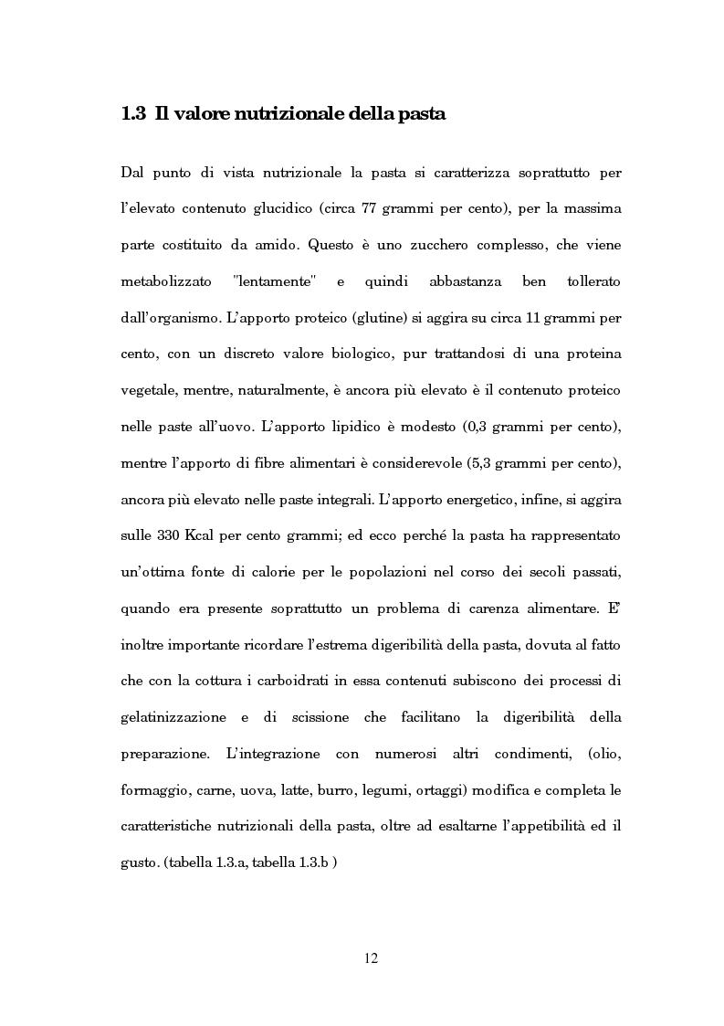 Anteprima della tesi: Caratterizzazione chimica e analisi sensoriale della pasta ottenuta dal farro, Pagina 8