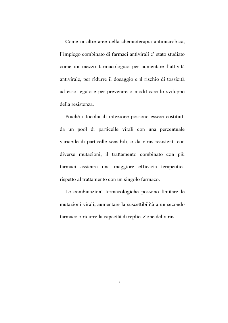 Anteprima della tesi: Attività anti-erpetica sinergica di associazioni di lisozima, lattoferrina e acido glicirrizico, Pagina 3