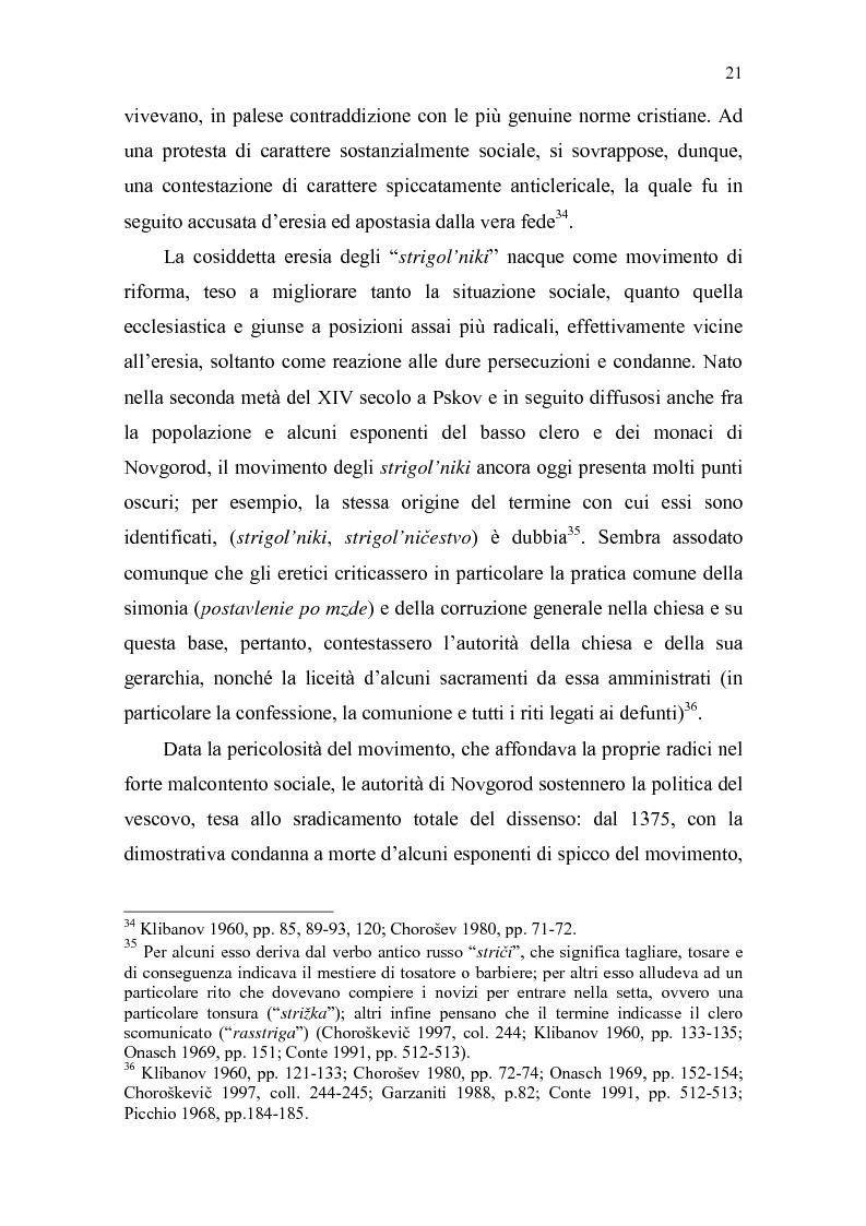 Anteprima della tesi: La Tiara di Novgorod. L'origine, la storia e la leggenda, Pagina 15