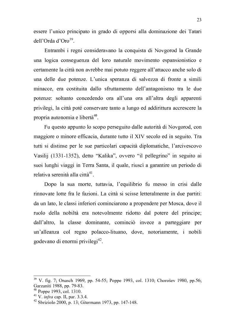 Anteprima della tesi: La Tiara di Novgorod. L'origine, la storia e la leggenda, Pagina 17