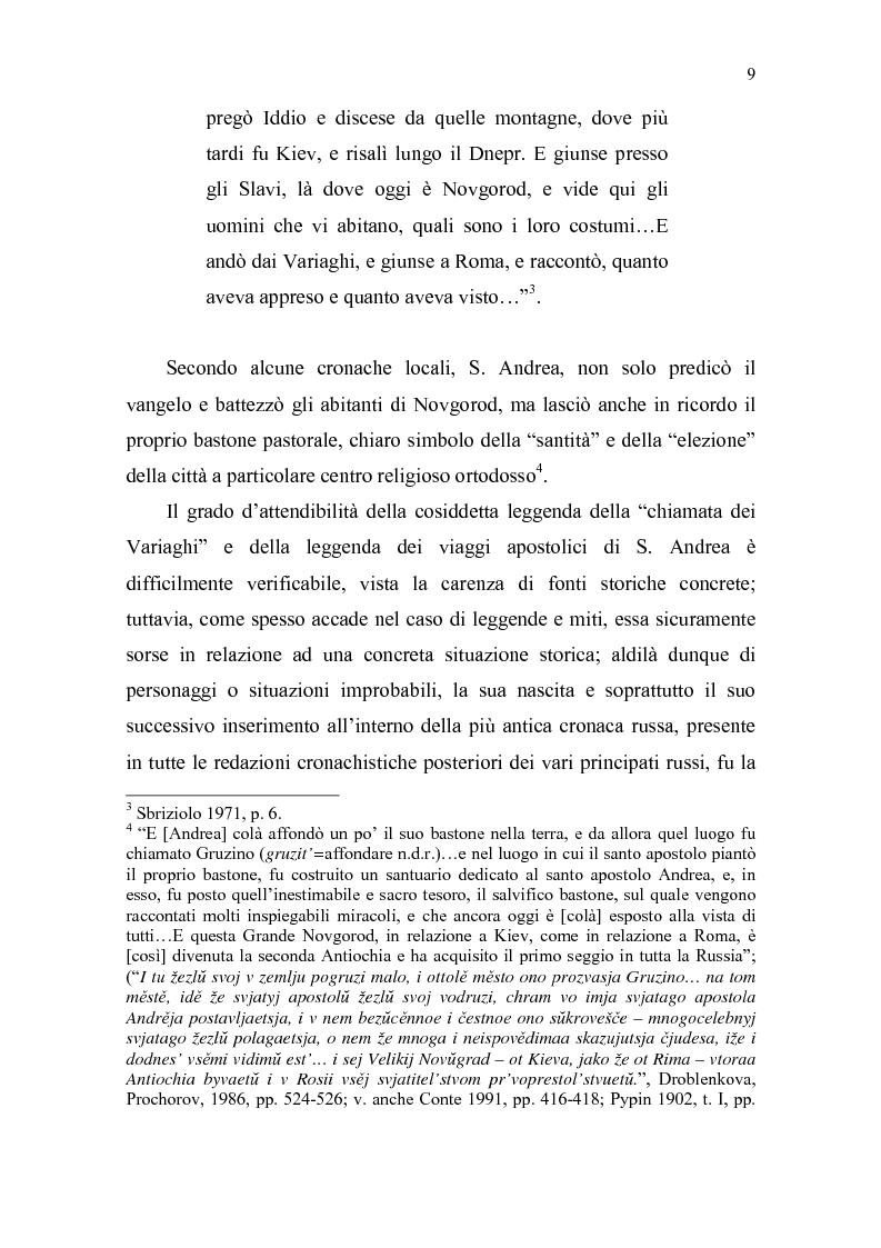 Anteprima della tesi: La Tiara di Novgorod. L'origine, la storia e la leggenda, Pagina 3