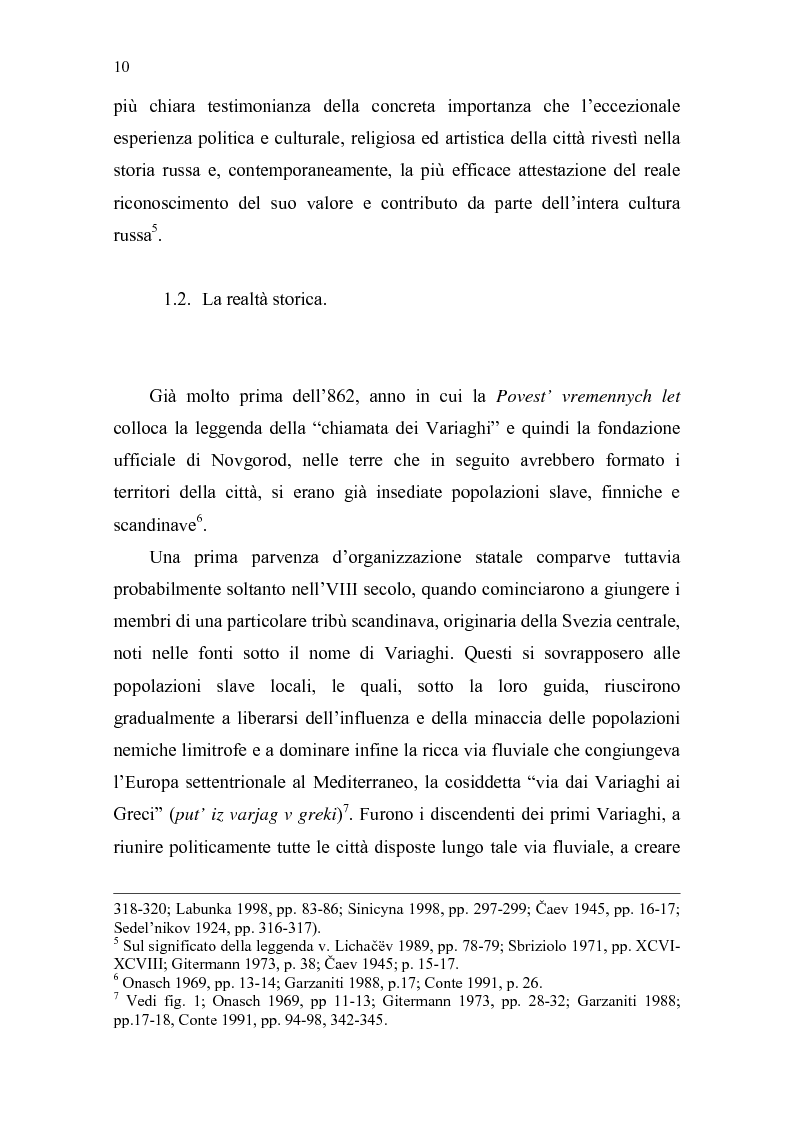 Anteprima della tesi: La Tiara di Novgorod. L'origine, la storia e la leggenda, Pagina 4
