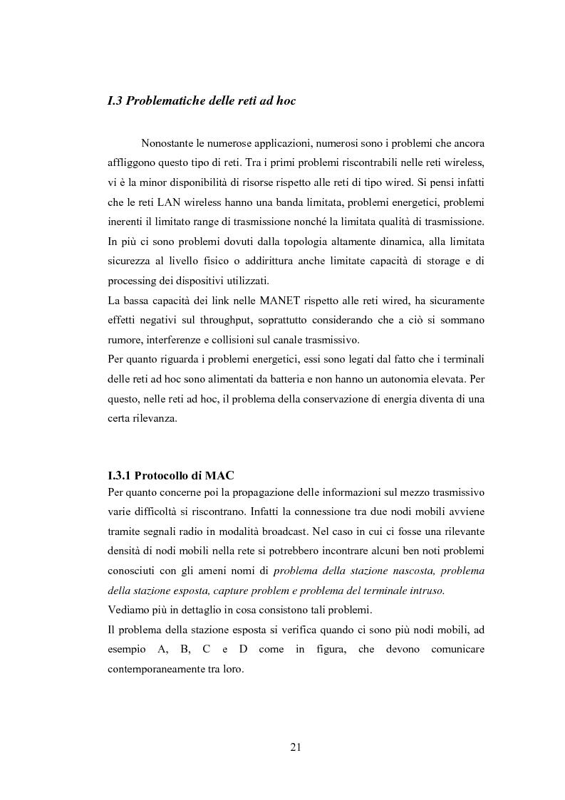 Anteprima della tesi: QSRP: un protocollo di routing per la qualità del servizio in reti ad hoc, Pagina 11