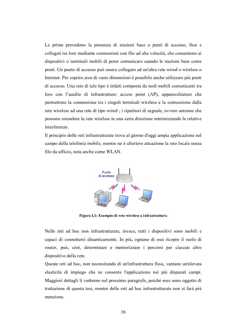 Anteprima della tesi: QSRP: un protocollo di routing per la qualità del servizio in reti ad hoc, Pagina 6