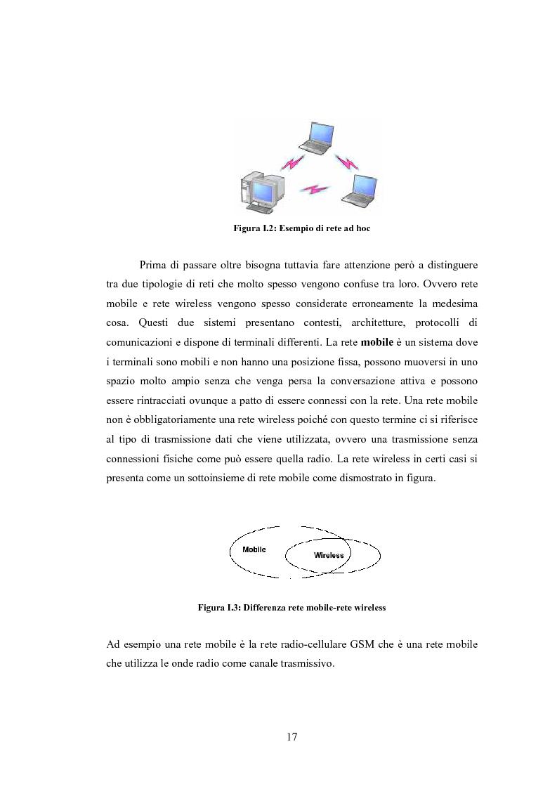 Anteprima della tesi: QSRP: un protocollo di routing per la qualità del servizio in reti ad hoc, Pagina 7