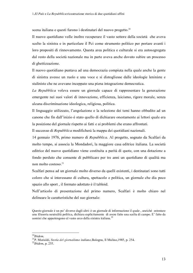 Anteprima della tesi: Il dibattito sull'immigrazione in ''La Repubblica''e ''El País'', Pagina 11