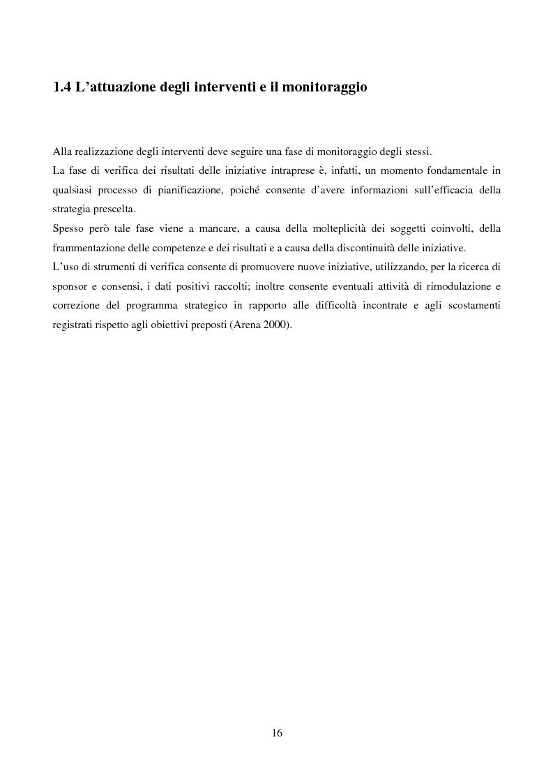Anteprima della tesi: Marketing urbano e town centre management: esperienze italiane e britanniche a confronto, Pagina 11