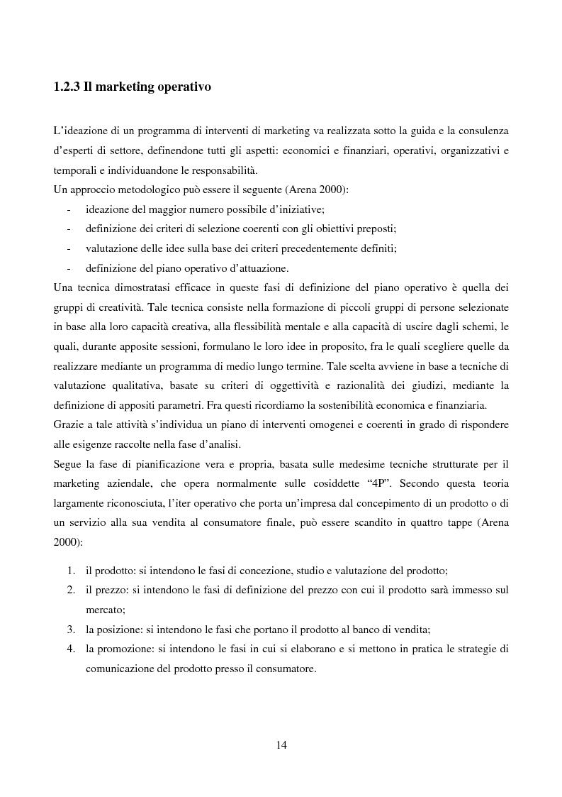 Anteprima della tesi: Marketing urbano e town centre management: esperienze italiane e britanniche a confronto, Pagina 9