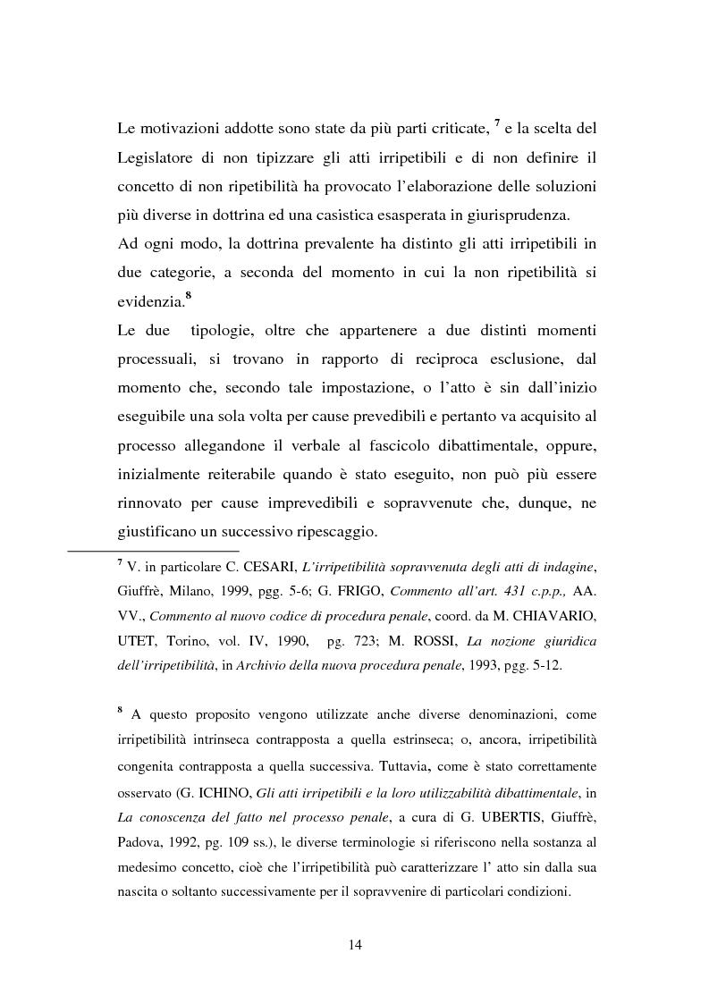 Anteprima della tesi: Atti non ripetibili di rilevanza medico-legale, Pagina 10
