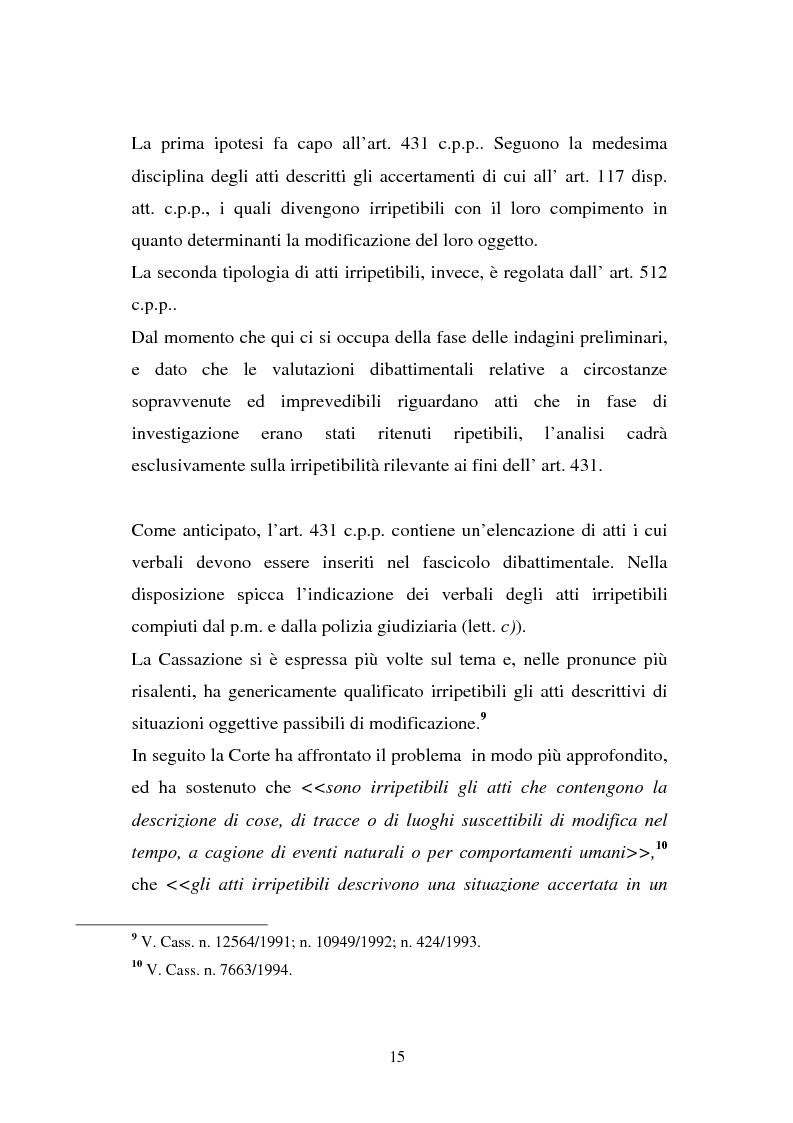 Anteprima della tesi: Atti non ripetibili di rilevanza medico-legale, Pagina 11