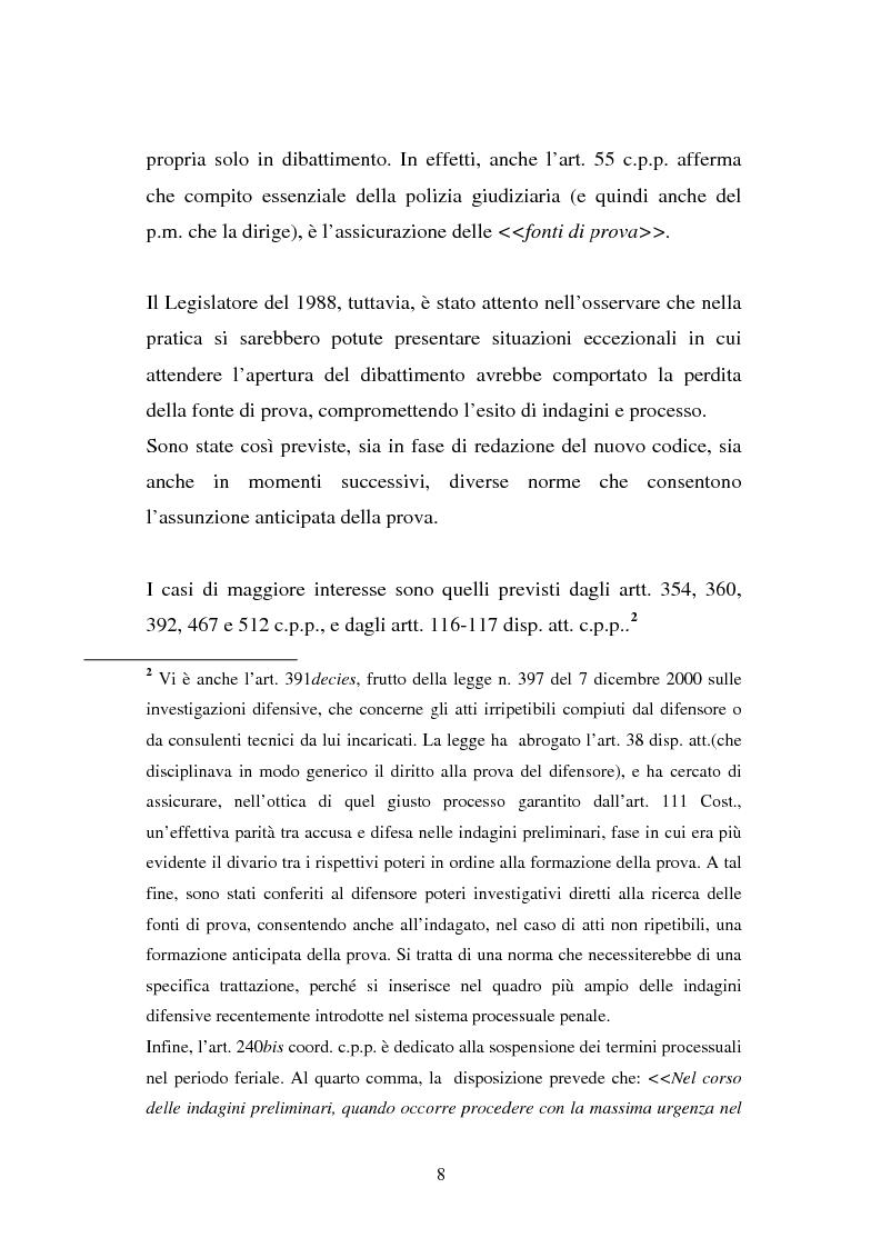 Anteprima della tesi: Atti non ripetibili di rilevanza medico-legale, Pagina 4