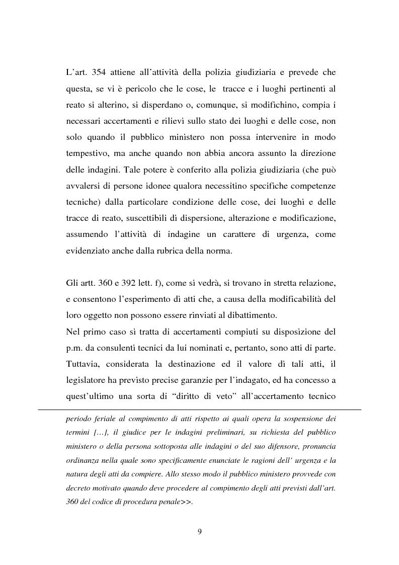 Anteprima della tesi: Atti non ripetibili di rilevanza medico-legale, Pagina 5