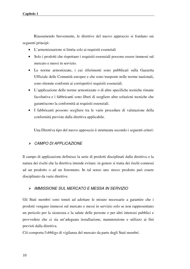 Anteprima della tesi: analisi e applicazione della direttiva R&TTE in un laboratorio di certficazione, Pagina 10